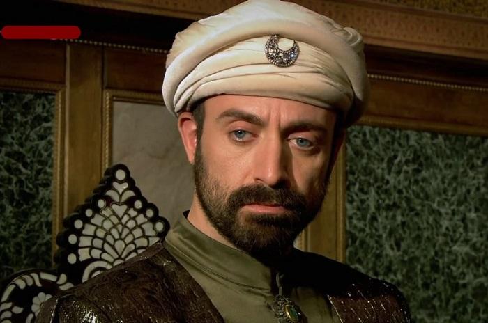 Кадр из сериала «Великолепный век». Султан Сулейман.